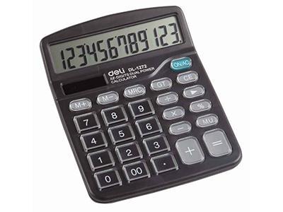 Máy tính deli-1272